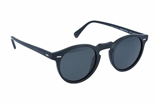Oliver Peoples round frames men sunglasses