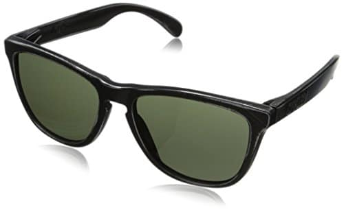 Oakley Men's Frogskins 24-413 Wayfarer Sunglasses,Black Decay,55 mm