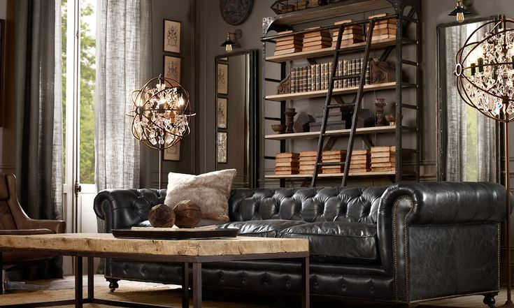 Masculine and Feminine Decor - How to Make a Room Look More Masculine