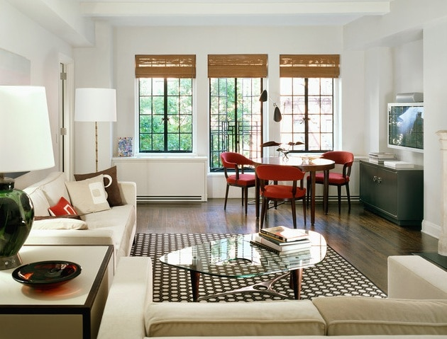 Use Neutral Colors for a Small Living Room