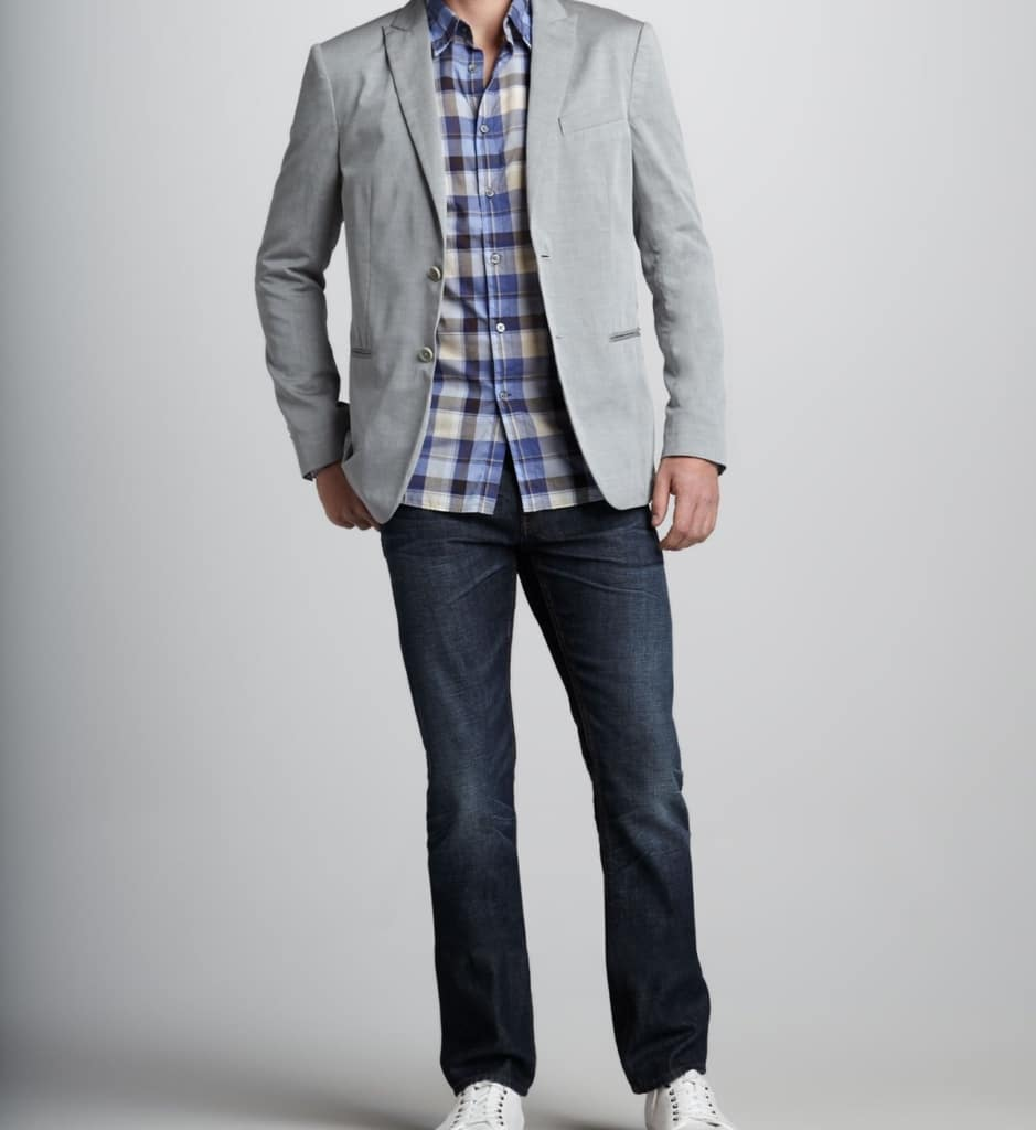 How to wear a Sport Coat with Jeans or Suit Jacket with Jeans - Make Sure Everything Fits
