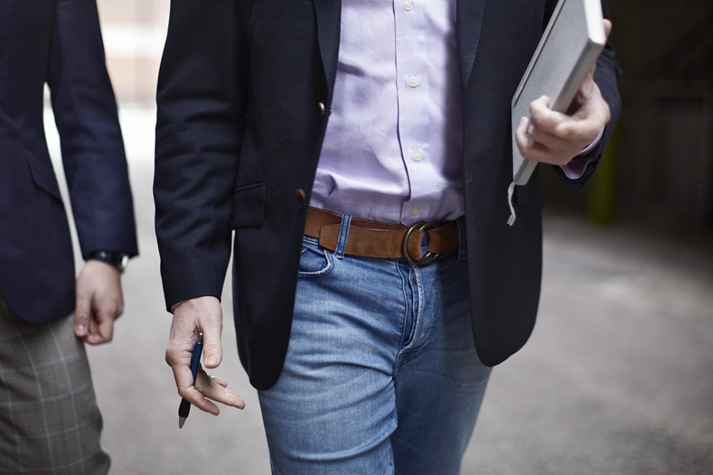 How to wear a Sport Coat with Jeans or Suit Jacket with Jeans - The Peak of Sartorial Style