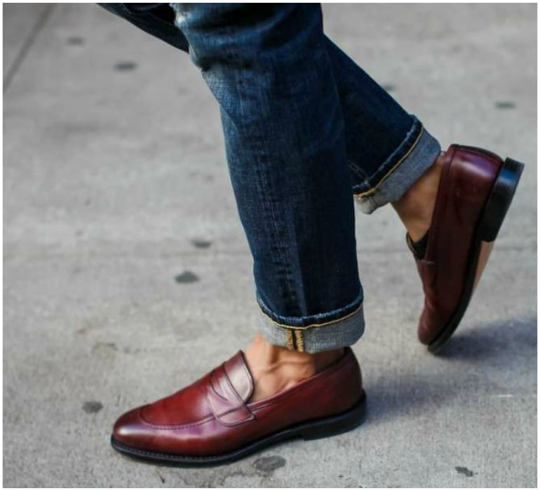G.H. Bass Penny Loafers With Ease - 5