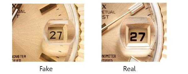 Guide On How To Spot a Fake Rolex - Cyclops
