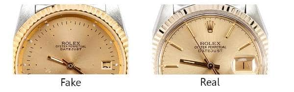 Guide On How To Spot a Fake Rolex - Stampings