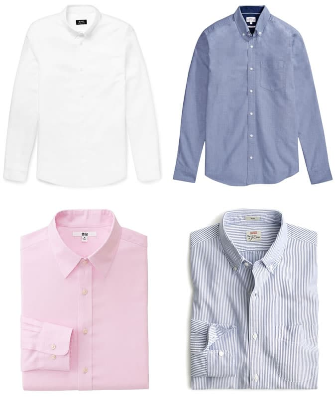 5 Key Business-Casual Pieces - Oxford Shirt
