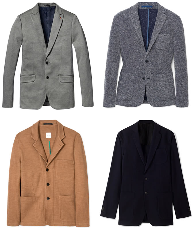 5 Key Business-Casual Pieces - Unstructured Blazer
