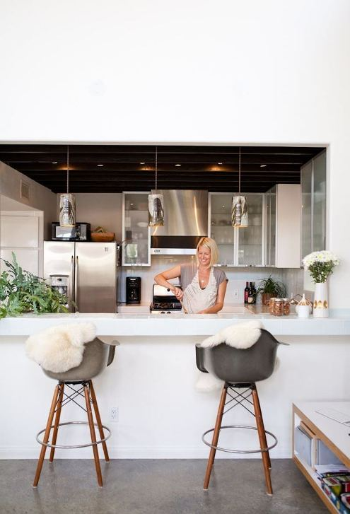 How To Decorate With Sheepskin Rug - Update Your Kitchen