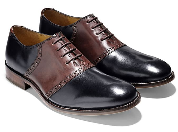 Oxford Shoes - Saddle Oxford Shoes