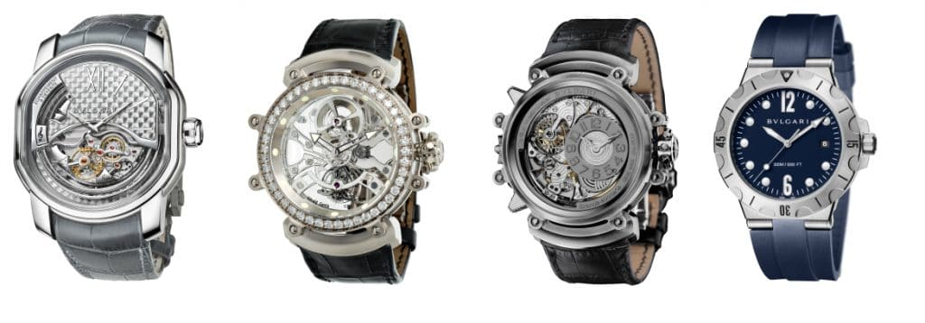 The Best Silver Watches For Men - BVLGARI