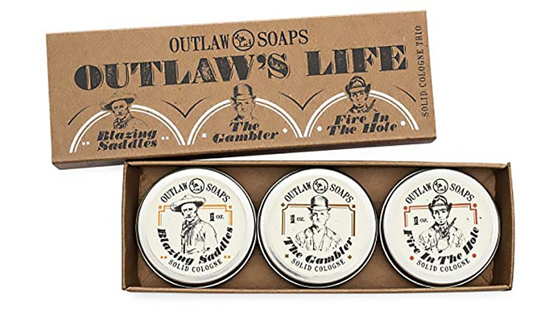Best Solid Colognes - Outlaw's Life Solid Cologne Gift
