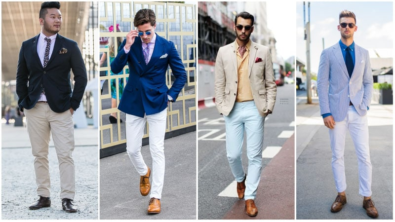 Brogues with Chinos