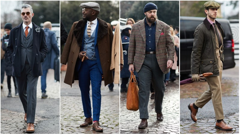 Brogues with Pants