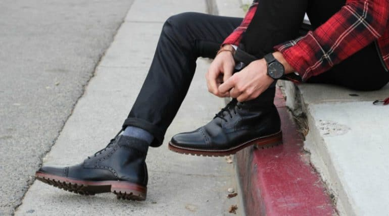 How To Wear Dress Boots - Brogue Boots