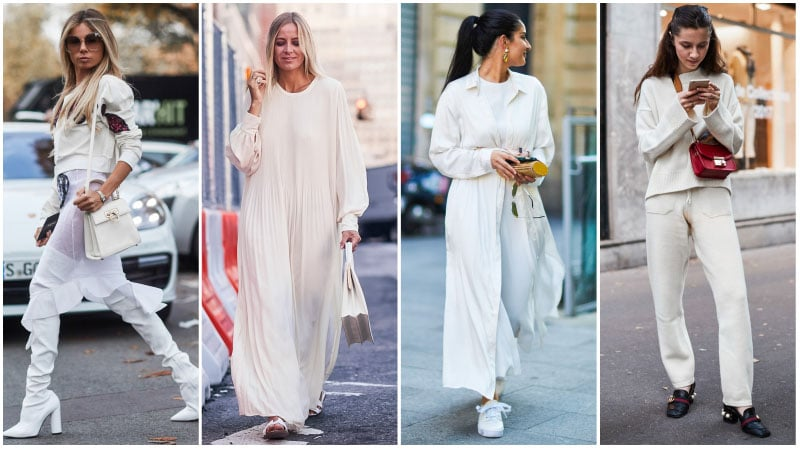 All White Casual Outfits