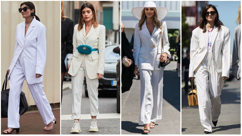 All White Suits