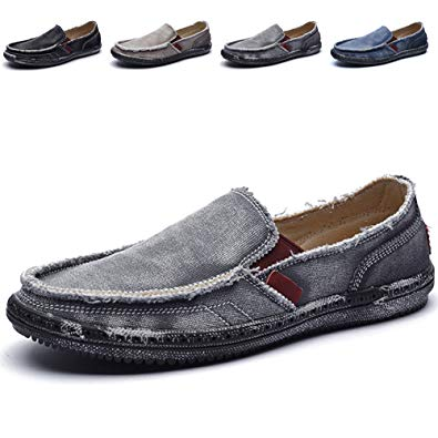 Cloth Shoes Canvas Slip on Loafers