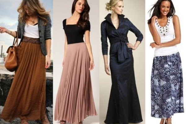 How To Wear A Maxi Skirt For A Chic Look