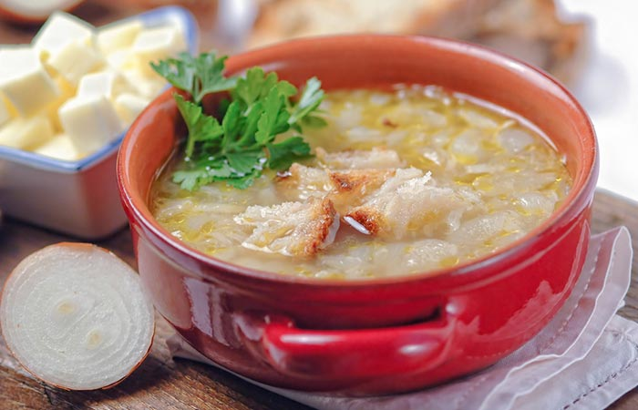 Onion For Weight Loss - Onion Soup