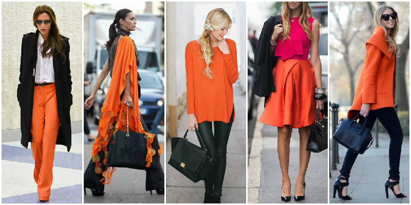Orange and Black Colour Combinations