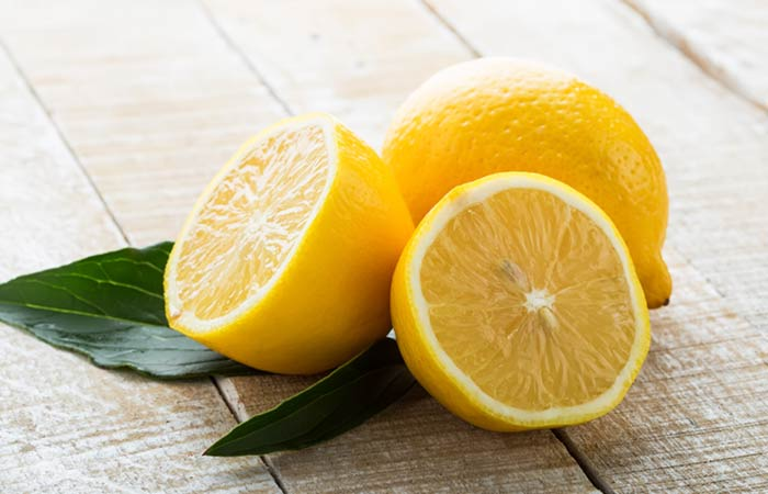 Lemon For Skin Pores