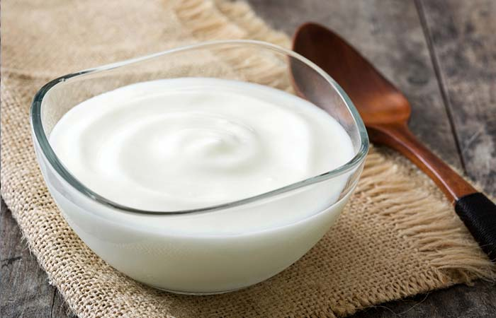 17. Yogurt For Flawless Skin
