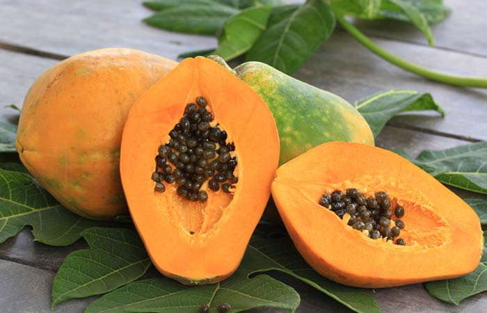 Papaya For Skin Pores