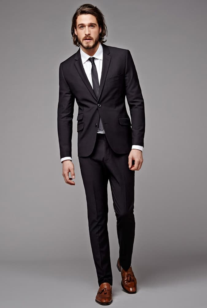 Color Shoes To Wear With A Charcoal Suit