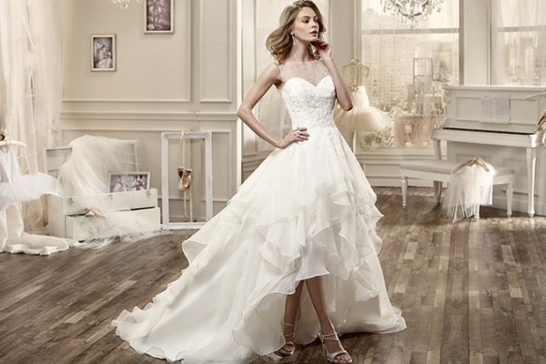 Most Beautiful High Low Wedding Dresses