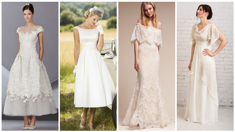 Casual Vintage Wedding Dresses