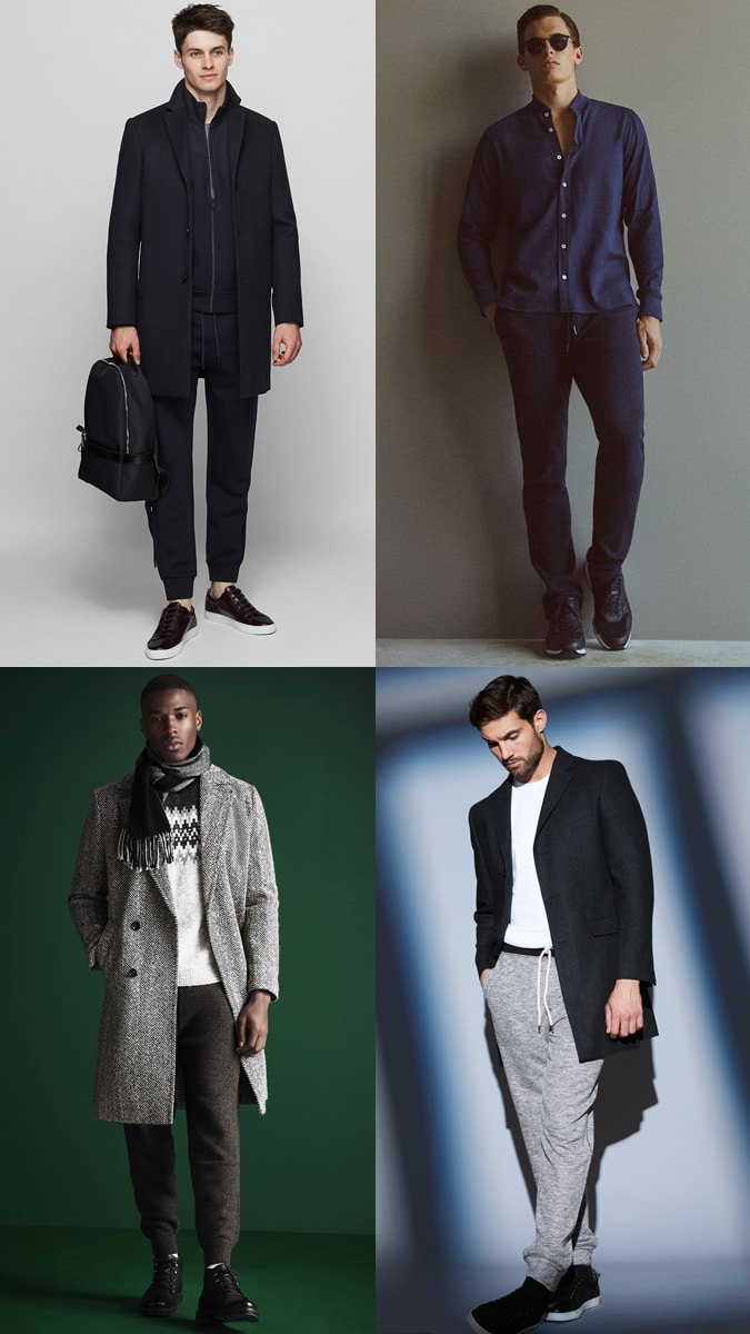 How to wear joggers - Smart-Casual