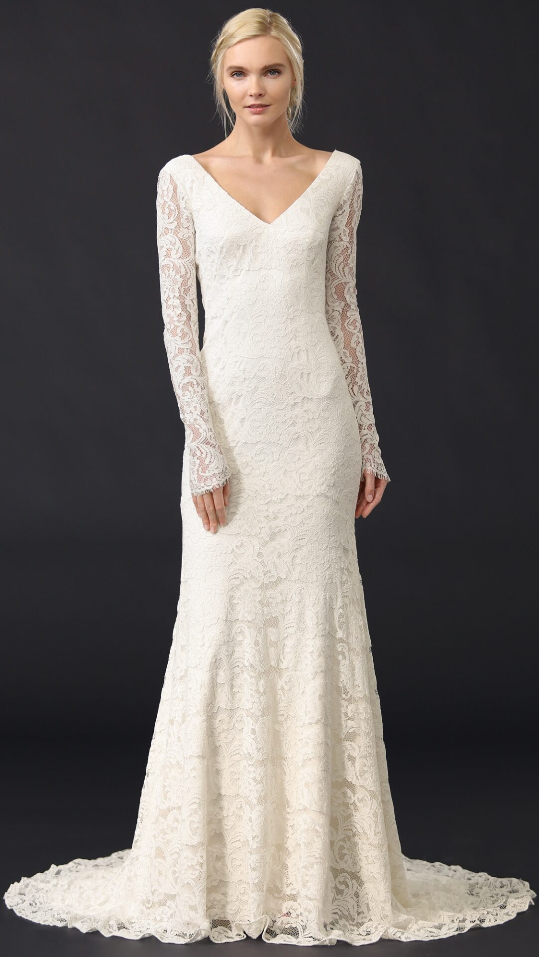 Theia Nicole Lace Gown