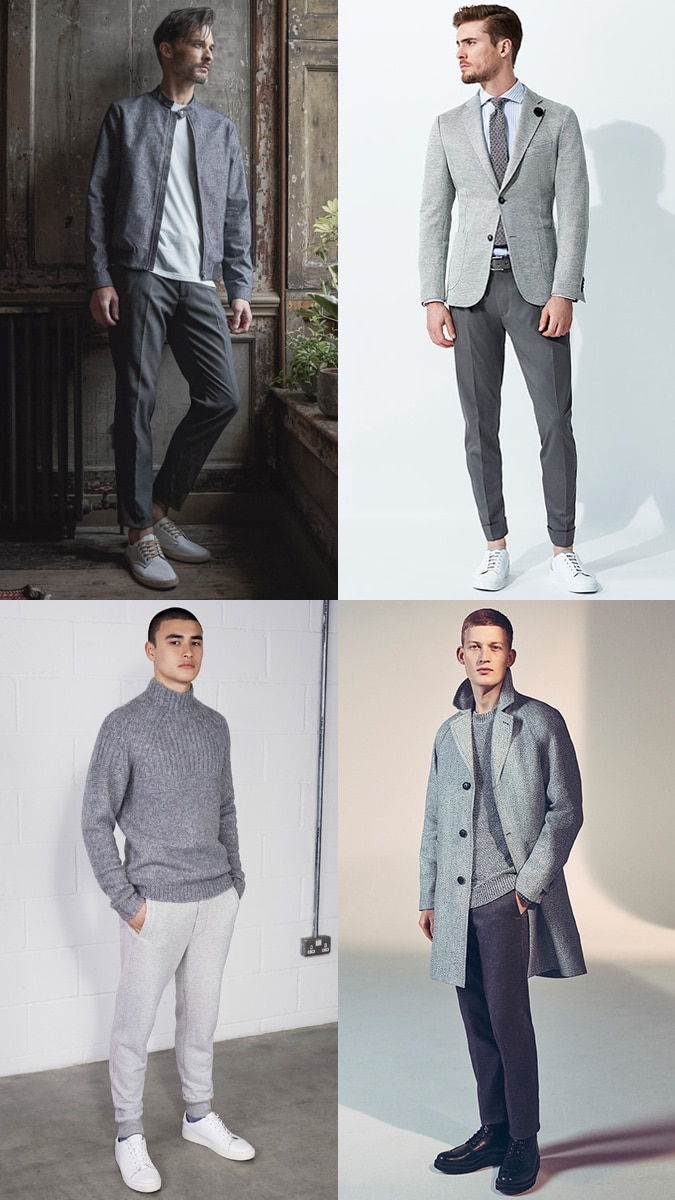 Tonal Dressing Colors gray