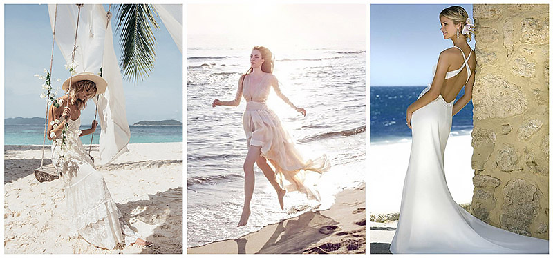 Dresses to wear Summer Beach Wedding