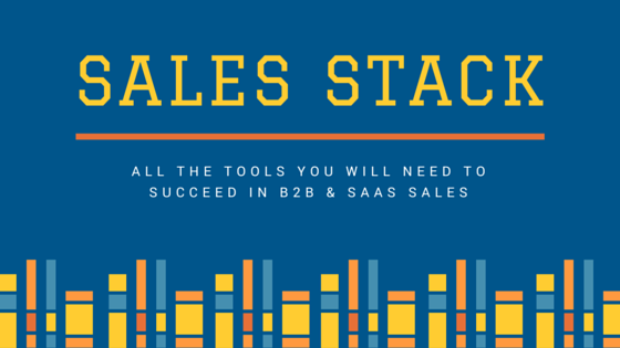 The Sales Stack - B2B Lead Generation Tools for SaaS startups. Good for enterprise software marketing. Jon Buchan Charm Offensive Facebook Group