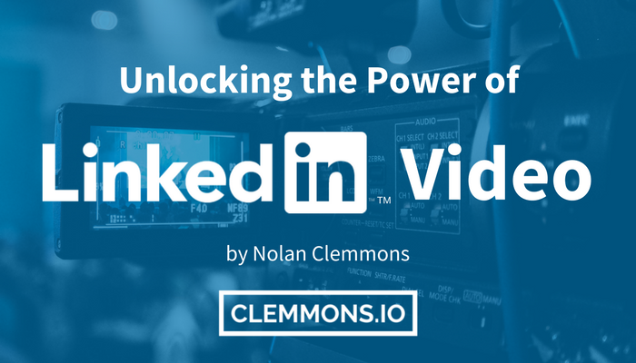 How To Harness the Power of the New Native LinkedIn Video Feature