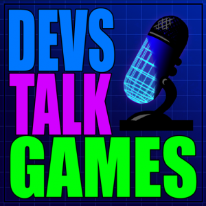 Devs Talk Games Podcast Logo Jeff lake Seth Shain