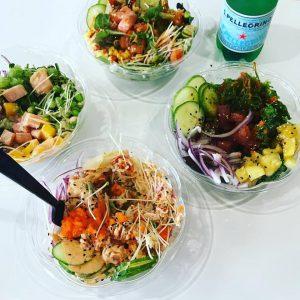 Poke Bop Dallas Sushi Bowl Hawaiian Japanese Cuisine Asian Fusion Food Lakewood Oak Lawn