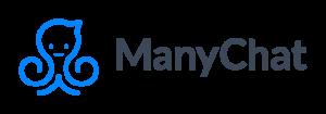 ManyChat Logo Facebook Messenger Chatbot platform for conversational marketing by Mikael Yang.