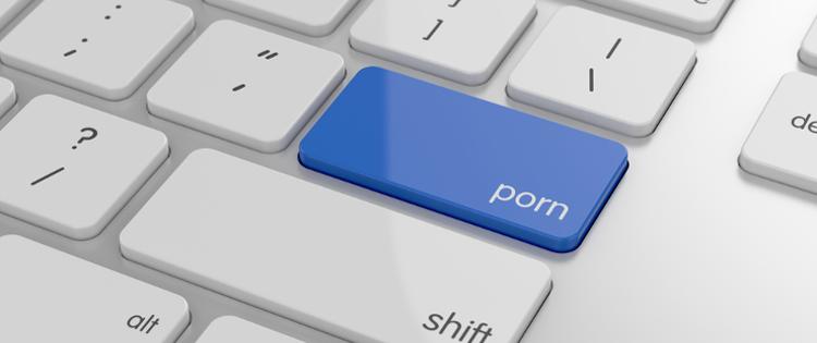 Porn Button on keyboard