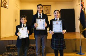 Fieldstone Students are Public Speaking Champions