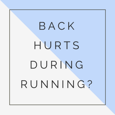 back hurts during running