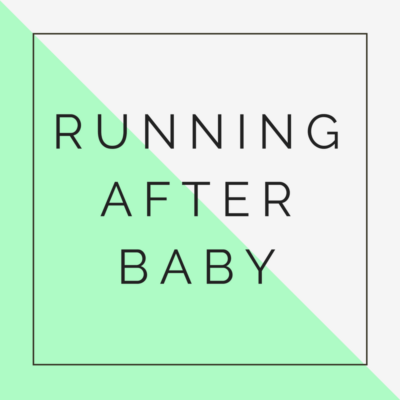 running after baby