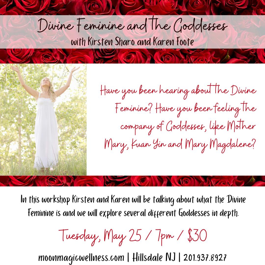 Divine Feminine and Goddesses