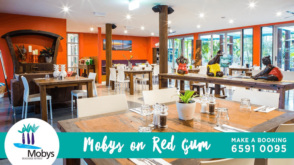 What's on this week at Mobys on Red Gum