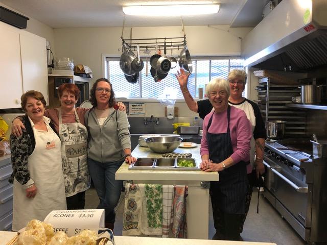 Bonspiel 2020 Volunteers - Kitchen