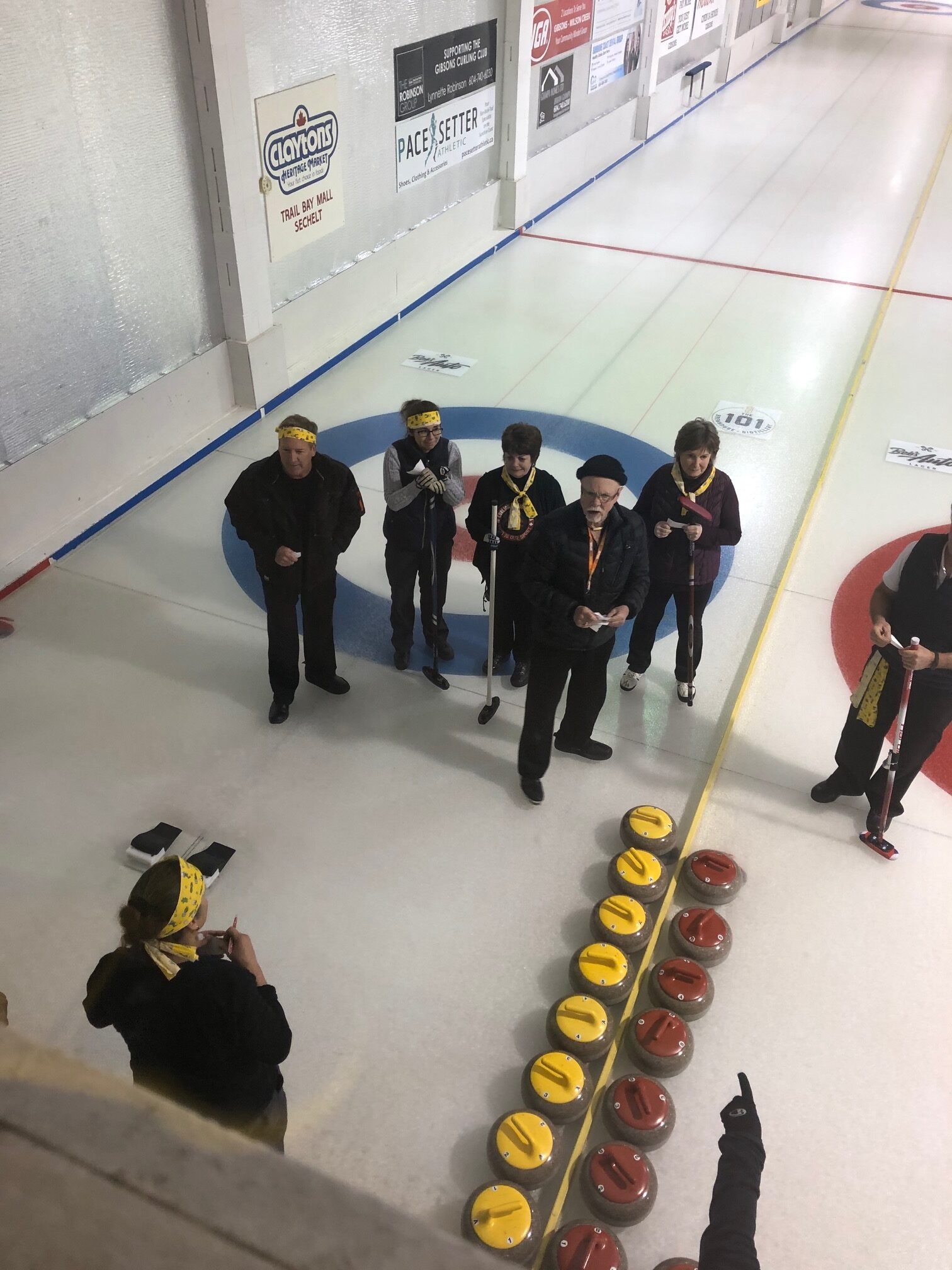 National Curling Day 2020 - Gibsons, BC