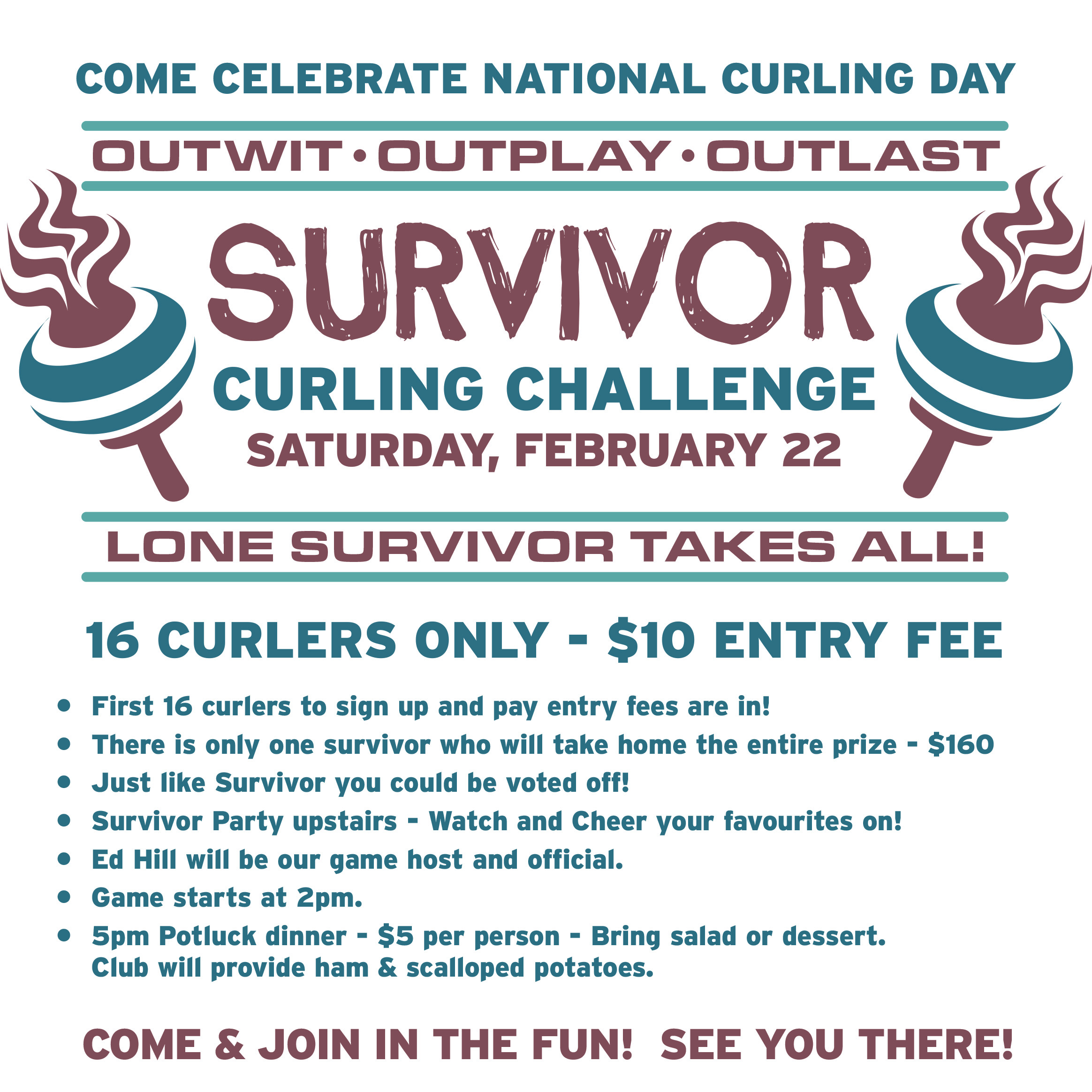 2020 Survivor Curling Challenge