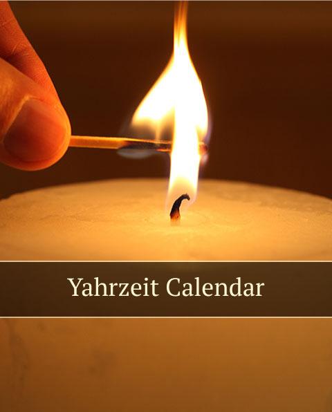 Yahrzeit-Calendar