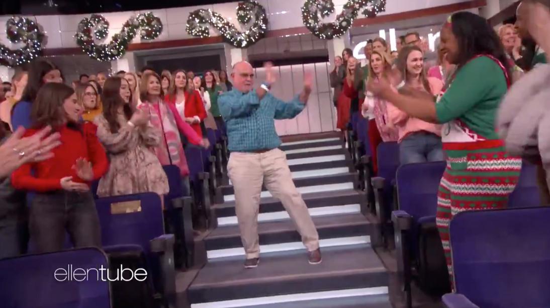 The Dancing CPA – The Ellen Show